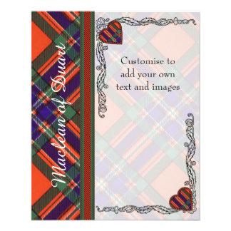 Macfarlane clan Plaid Scottish tartan Flyer
