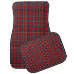 MacFarlane Clan Red and Navy Blue Scottish Tartan Car Mat