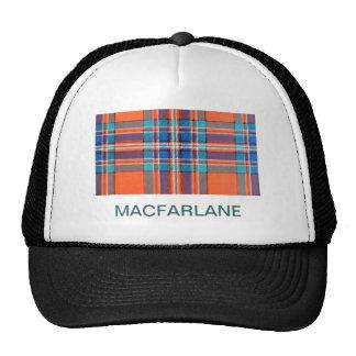 MACFARLANE FAMILY TARTAN TRUCKER HAT