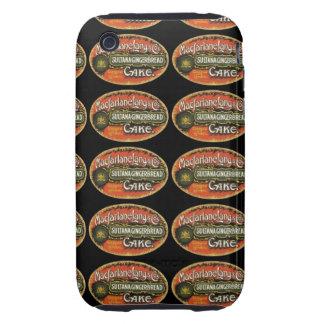 Macfarlanelang & Co Gingerbread Cake Tough iPhone 3 Cover