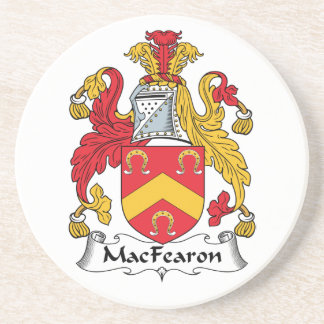 MacFearon Family Crest Drink Coasters
