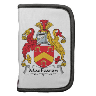 MacFearon Family Crest Organizers