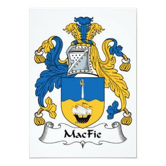 MacFie Family Crest Card