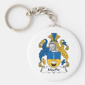 MacFie Family Crest Keychains