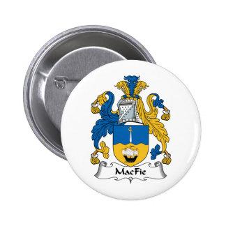 MacFie Family Crest Pins