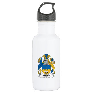 MacFie Family Crest Water Bottle