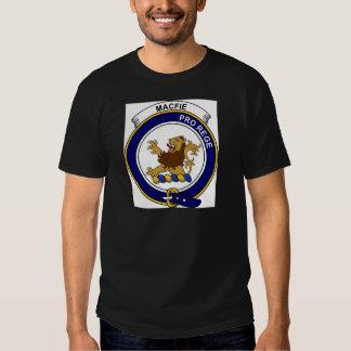 MacFie (of Dreghorn) Clan Badge T Shirt