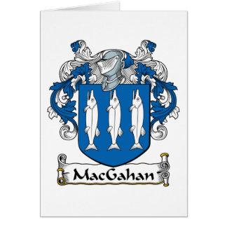 MacGahan Family Crest Card
