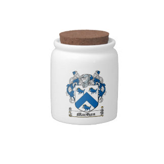 MacGan Family Crest Candy Dishes