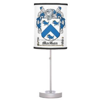 MacGan Family Crest Lamp