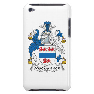 MacGannon Family Crest Barely There iPod Covers