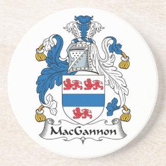 MacGannon Family Crest Coasters
