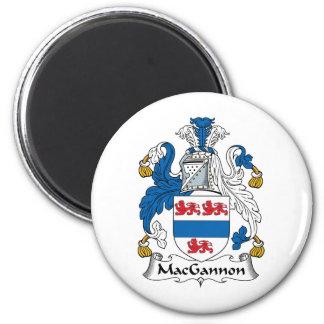 MacGannon Family Crest Fridge Magnet