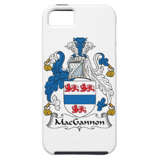 MacGannon Family Crest iPhone 5 Covers
