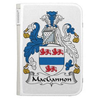 MacGannon Family Crest Kindle Folio Cases
