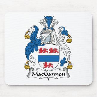 MacGannon Family Crest Mouse Mat