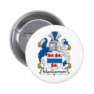 MacGannon Family Crest Pin
