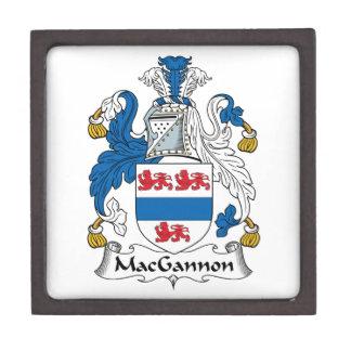 MacGannon Family Crest Premium Jewelry Box