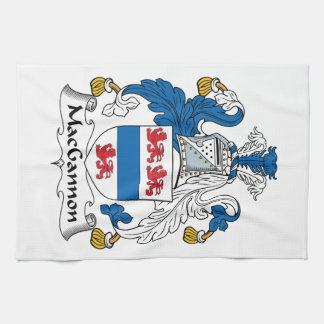 MacGannon Family Crest Towels