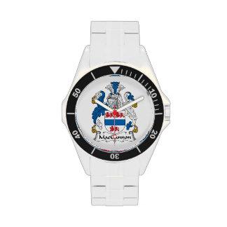MacGannon Family Crest Wrist Watches