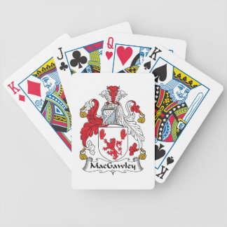 MacGawley Family Crest Bicycle Card Decks