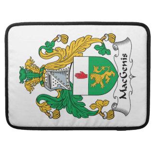 MacGenis Family Crest MacBook Pro Sleeves
