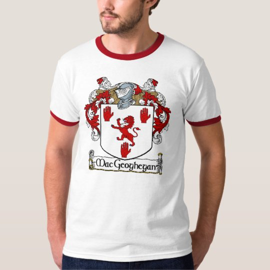 MacGeoghegan Coat of Arms T-Shirt