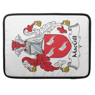 MacGill Family Crest Sleeve For MacBook Pro