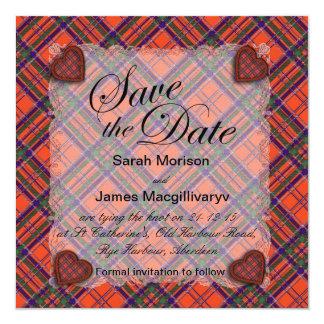 Macgillivary Scottish clan tartan - Plaid Card