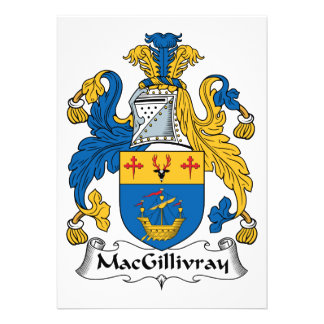 MacGillivray Family Crest Cards