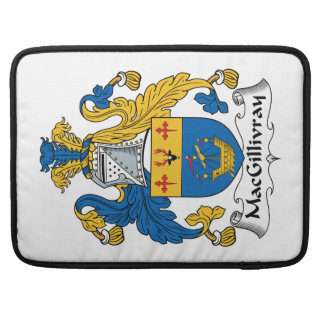 MacGillivray Family Crest Sleeve For MacBooks