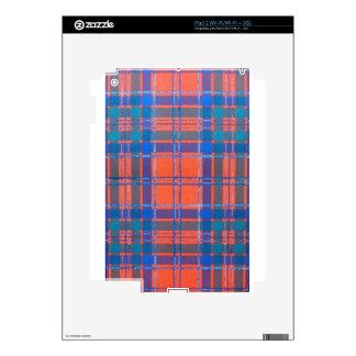 MACGILLIVRAY SCOTTISH FAMILY TARTAN SKIN FOR THE iPad 2