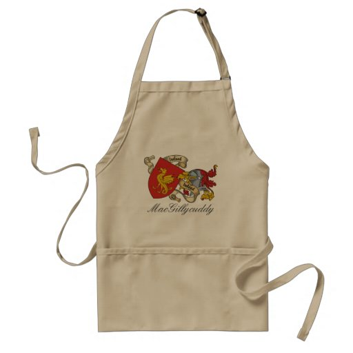 MacGillycuddy Family Crest Adult Apron