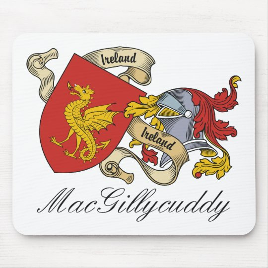 MacGillycuddy Family Crest Mouse Pad