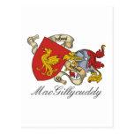 MacGillycuddy Family Crest Postcard
