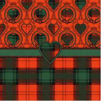 MacGlashan clan Plaid Scottish kilt tartan Cutout