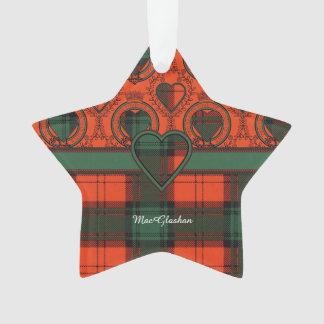 MacGlashan clan Plaid Scottish kilt tartan Ornament