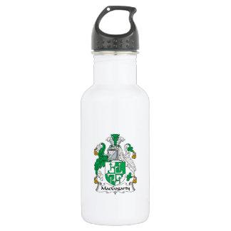 MacGogarty Family Crest 18oz Water Bottle