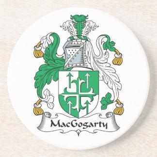 MacGogarty Family Crest Beverage Coaster