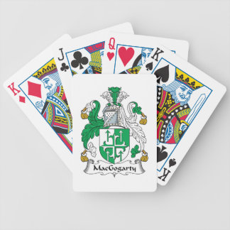 MacGogarty Family Crest Bicycle Playing Cards