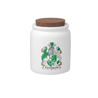 MacGogarty Family Crest Candy Dish