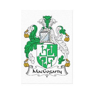 MacGogarty Family Crest Canvas Print