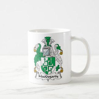 MacGogarty Family Crest Classic White Coffee Mug