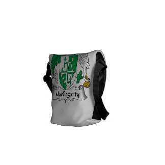 MacGogarty Family Crest Courier Bags