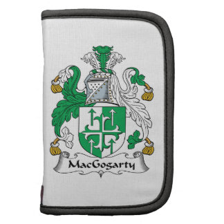 MacGogarty Family Crest Folio Planner