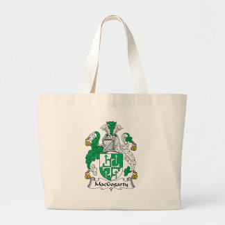 MacGogarty Family Crest Jumbo Tote Bag