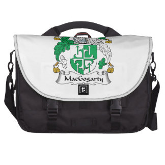 MacGogarty Family Crest Laptop Bags