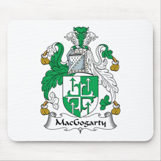 MacGogarty Family Crest Mouse Pad