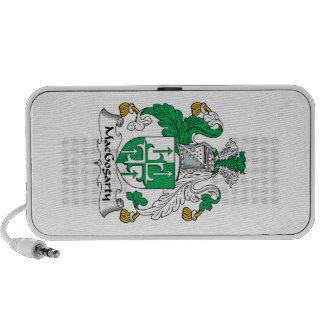 MacGogarty Family Crest Notebook Speaker