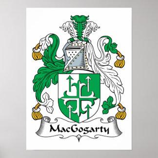 MacGogarty Family Crest Poster